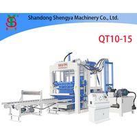 QT10-15 automatic block machine for sale thumbnail image