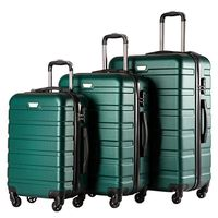 Best quality 100% ABS luggage set, travel luggage bags