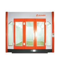 23' downdraft spray booth,zd-c900-sw