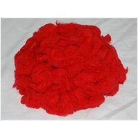 color polyester fiber