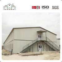 Big Space Light Steel Frame Prefabricated Labor Camp