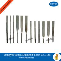 SUNVA Diamond Machine Taper Files / Diamond Files thumbnail image