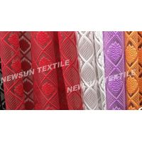 high quality Organza Jacquard fabric for ladies skirt fashion dress and Garment