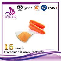 Carrot Fruit Powder Cholesterol-lowering Anti-inflammatory organic thumbnail image