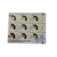 Automotive PCB with carbon ink