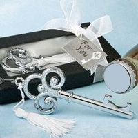 Key to My Heart Collection Key Design Bottle Opener Favors