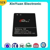 For samsung galaxy s2 mobil battery small rechargeable 3.7v battery