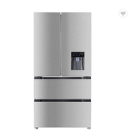 Smart Refrigerator French Door Electronic temperature control With Water Dispenser thumbnail image