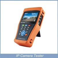 4.3 inch CCTV Tester IP&Analog Camera Testing PTZ Wire tracker UPT Cable Testing with Video level me thumbnail image