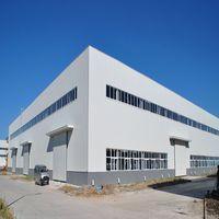 Prefabricated Steel warehouse / workshop / hangar / hall steel structure price thumbnail image