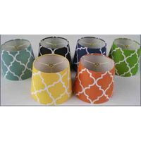 diamond pattern home decor lamp shade