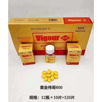 Hot sale strong effect sex pill Gold Vigour 800