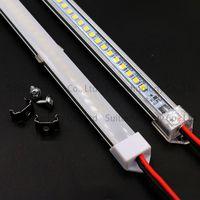 LED Bar Light AC220V LED Rigid Strip 20cm 40cm 50cm 60cm LED Tube with U Aluminium Shell + PC C thumbnail image