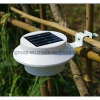 Outdoor Proof Solar Powered Fence Gutter LED Light Wall Solar Fence Light From China thumbnail image