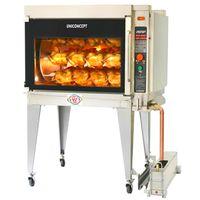 Gas Rotisserie Chicken Grill Machine