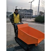Brand 500kg load hydraulic mini dumper crawler 6.5hp machine with CE thumbnail image