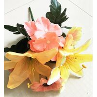 Silk flower decoration bouquet Artificial flowers mixed flower home party decoration