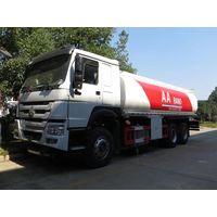 25cbm 25000 Liters Sinotruk HOWO Fuel Tank Truck Oil Truck Oil Tank Truck thumbnail image