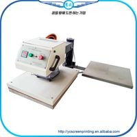 pneumatic double pressure heat press machine for sale