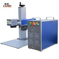 Factory directly price 20W/30W/50W fiber laser marking machine cnc metal laser marking machine thumbnail image