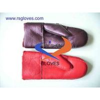 leather fashion gloves