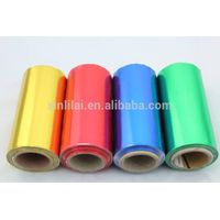 Colored hairdressing aluminum foil