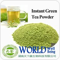 instant green iced tea powder | fast dissolving green tea powder 80 mesh