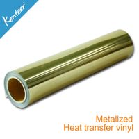 Hot Sale Good Quality Metallic Heat Transfer film for T-shirt