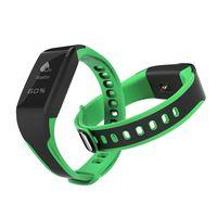 0.96inch sport smart bracelet IP68 Waterproof Grade 180mAh battery