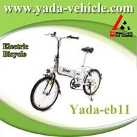 36v 250w 10ah 20inch lithium mini foldable city electric bicycle bike (yada eb11)