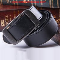 Sell Casual Square Shape Buckle Design Leather Black Belt