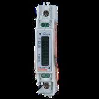 single-phase RS485 modbus din rail digital ac energy meter with multi-parameter metering ADL10-E