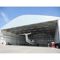 Prefabricated Steel Structure Framework Construction Maintenance Airplane Aircraft Hanger thumbnail image