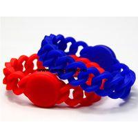 RFID silicone wristbands twist band thumbnail image