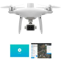 P4 Multispectral Agricultural Drone with Enterprise Shield Basic & GS Pro