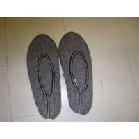 Wool dancing shoe