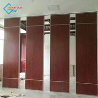 Advanced folding movable partition walls for hotel