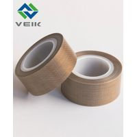 Non-stick 0.4mm thick ptfe fiberglass adhesive tape