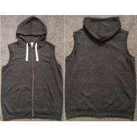 Takko Fashion stock lot on sales, 11,163pcs Men's fleece zipper hoody gilet TC2-373 thumbnail image
