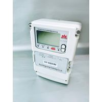 Three phase cost - controlled intelligent electric energy meter