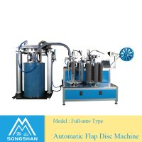 Full Automatic China Factory Flap Disc Making Machine--For Flap Disc Making