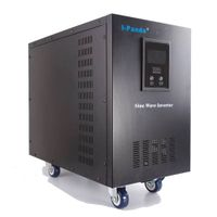 DC to AC pure sine wave inverter with LCD display I-P-XD-15000VA thumbnail image
