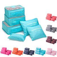 6 pcs in 1 set Organizer Travel Bags