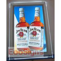 Crystal Acrylic Frame Light Boxes