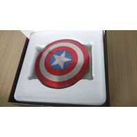 Total Alloy Mobile Power Bank 6800mah with Avenger Captain America Shield Shape