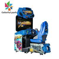 Colorful Park Rowing Boat Mini Car Driving Simulator Racing Arcade Game Machine thumbnail image