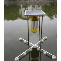 Automatic feeding system for fish by power on solar
