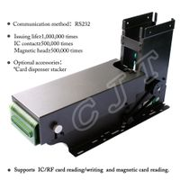 Card Issuing & Reading/Writing Machine CJT-F6 Card Collector Card Dispenser Card Reader Card Writ