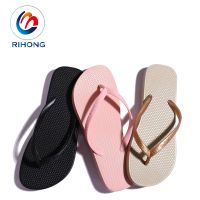 profession flip flop hand made small moq summer beach custom rubber women flip flop thumbnail image