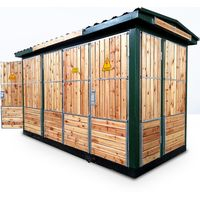 YB series China Supplier box type electrical transformer substation for power distribution
